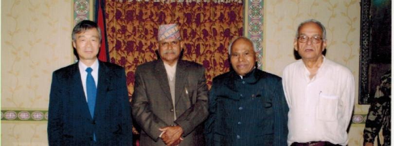 ITUC-AP General-Secretary Mr. N. Suzuki along with SARTUC President and General Secretary met with Hon'ble President of Nepal